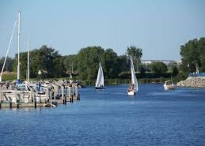 Thunder Bay River Sailboats